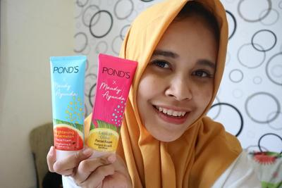 Washing Foam With Pond's X Maudy Ayunda