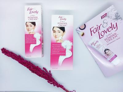 REVIEW : Fair & Lovely 2 in 1 Powder Cream