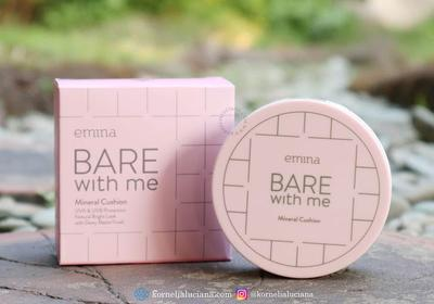 [Makeup Review] - Emina Bare With Me Mineral Cushion