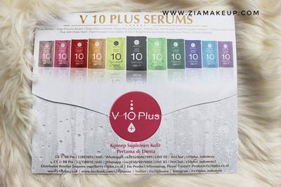 Review V10 Plus Serum Whitening Series
