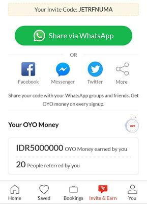 Pengalaman Booking Hotel Gratis di OYO Rooms