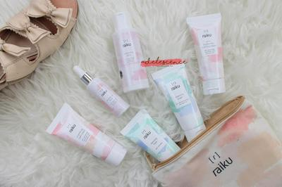 [ review // skincare ] Raiku Beauty Brightening Series