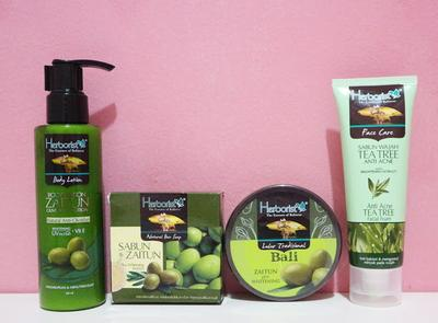 Review Herborist Tea Tree Zaitun Series