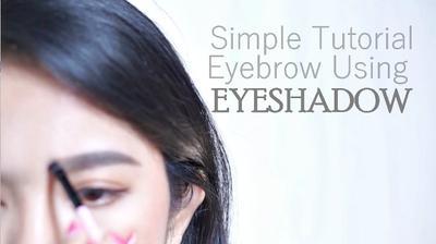 How I Draw My Eyebrow [2018] || Cara Mudah Gambar Alis