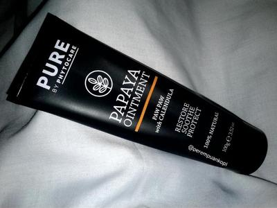 Review Pure Papaya Ointment:  Salap dengan Jutaan Manfaat