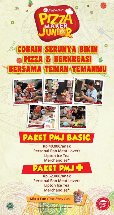Ngikutin Anak Seru-Seruan Membuat Pizza di Pizza Maker Junior Pizza Hut