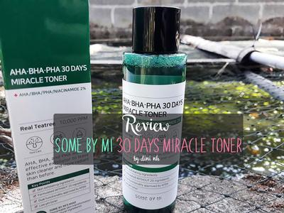 Review Some By Mi MIRACLE TONER