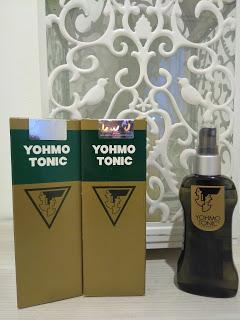 Pakai Yohmo Tonic bye bye ketombe, rambut rontok dan rambut kering