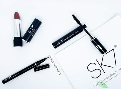 REVIEW : SK 7 Makeup | One Color Makeup with SK 7