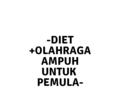 Diet Untuk Pemula Anti Gagal yang Pernah Kucoba!