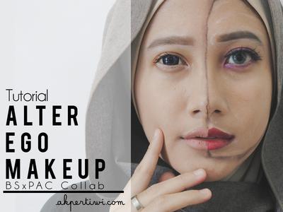 [TUTORIAL] Alter Ego Makeup | #BSxPAC #BS2Tahun
