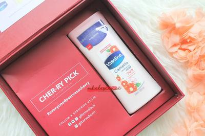 [ review // body care ] Vaseline Japan Inspired Limited Edition Body Lotion (Camellia)