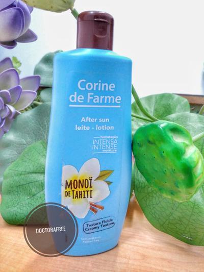 Review After sun Lotion Manoi de Tahiti Corine de Farme
