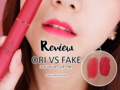 Review: Perbedaan 3CE Velvet Lip Tint Asli dan Palsu