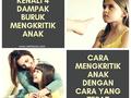 Kenali 4 Dampak Buruk Mengkritik Anak dan Cara Mengkritik Anak Dengan Cara Yang Tepat