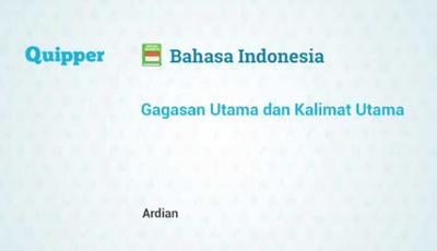 Soal Bahasa Indonesia Kelas VI dalam bentuk Pilihan ganda semester 1