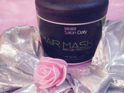 Mau Rambut Sehat? Maskerin Aja dengan Makarizo Salon Daily Hair Mask Repair Treatment For All Types