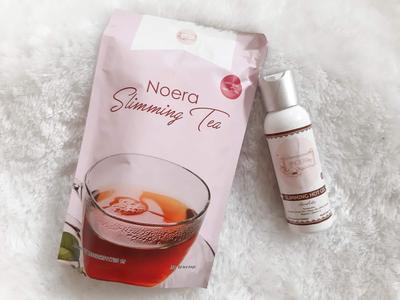 [REVIEW] Noera Slimming Tea and Noera Slimming Hot Gel