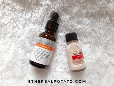 [REVIEW] Ciracle Vitamin Source C-20 and Ciracle Pimple Solution Red Spot Pink Powder