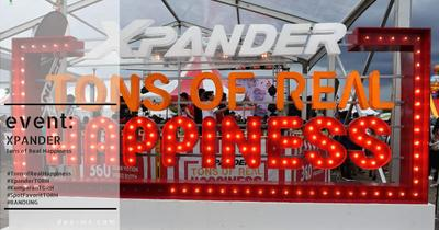 Event: XPANDER Tons of Real Happiness Bandung
