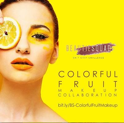 COLOFUL FRUIT MAKE UP COLLAB