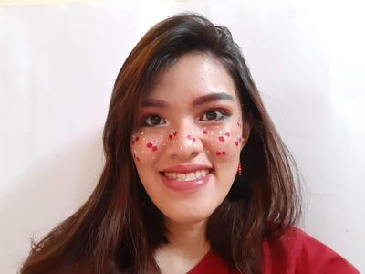 [Collaboration] Cherry Freckles Makeup Look