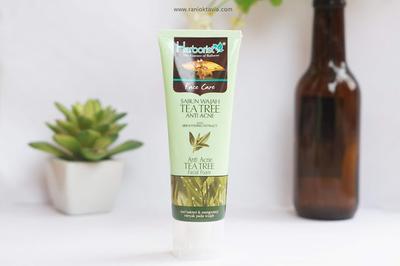 [Skincare Review] Herborist Facial Foam Tea Tree Anti Acne