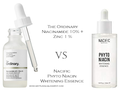 Review : The Ordinary Niacinamide 10% + Zinc 1% VS Nacific (Natural Pacific) Phyto Whitening Essence