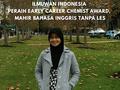 Cara Sederhana Aprilia Nur Tasfiyati, Ilmuwan Indonesia Peraih Early Career Chemist Award, Mahir bahasa Inggris tanpa LES