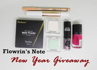 (Announcement) Flowrin's Note New Year Giveaway