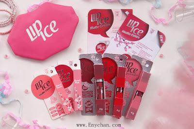 REVIEW Lip Ice Matte Color dan Lip Ice Matte Cream