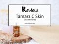 Review : Tamara C Skin Serum Amande
