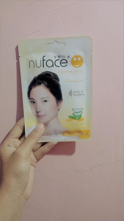[REVIEW] Nuface Sheet Mask (Revitalizing)
