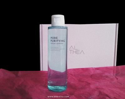 REVIEW - Althea Pore Purifying Serum Cleanser