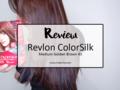 Review: Revlon ColorSlik Medium Golden Brown 43