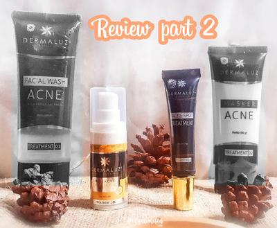 [Honest Review] Dermaluz Acne Series - Acne Serum Exfoliating & Acne Spot Treatment [Bahasa Indonesia]