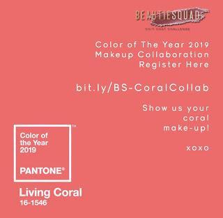 Trend Warna Makeup 2019 - Coral Makeup Look With Beautiesquad