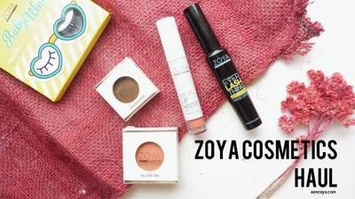 Zoya Cosmetics Haul