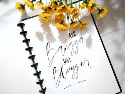 Menjadi Blogger : Semakin Dekat dengan Mimpiku