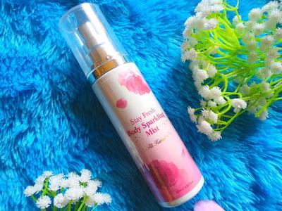 [Review] : Althea x Titi Kamal Stay Fresh Body Sparkling Mist