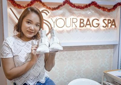 Pengalaman Cuci Sepatu di Your Bag Spa