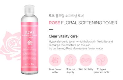 (REVIEW) Secretkey Rose Floral Softening, Toner harga 100ribuan?