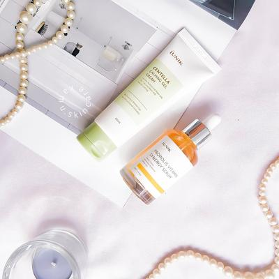 REVIEW: iUNIK Propolis Vitamin Synergy Serum & Centella Calming Gel Cream
