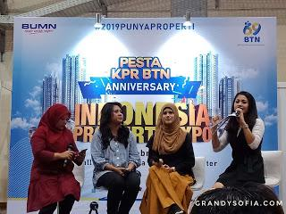 """Pesta KPR BTN Anniversary - Membuat Impian """"Merombak"""" Kamar Menjadi BOHO Styling di Acara Indonesia Properti Expo 2019 Akhirnya Terwujud"""