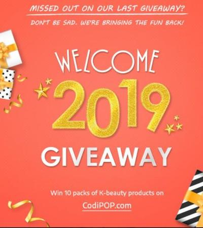 *closed* GIVEAWAY MAKE UP KOREA!! (sampai 15 Februari 2019) Jangan sampai ketinggalan!
