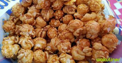 Popcorn Caramel Bikin Nagih Terus