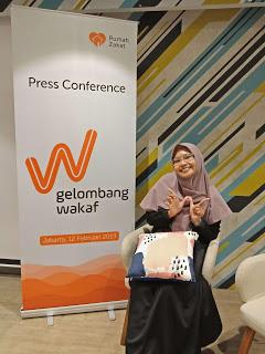 """Elaborasi dengan Kaum Millenial dengan """"Waqf Wave"""" by Rumah Zakat"""