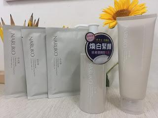 Naruko Taiwan Magnolia Brigthening and Firming Series Review