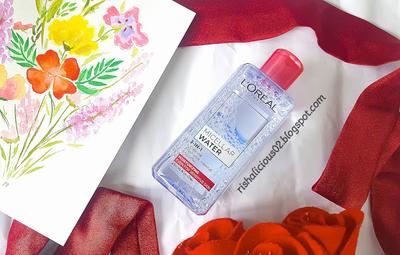 REVIEW : L'oreal Micellar Water Moisturizing