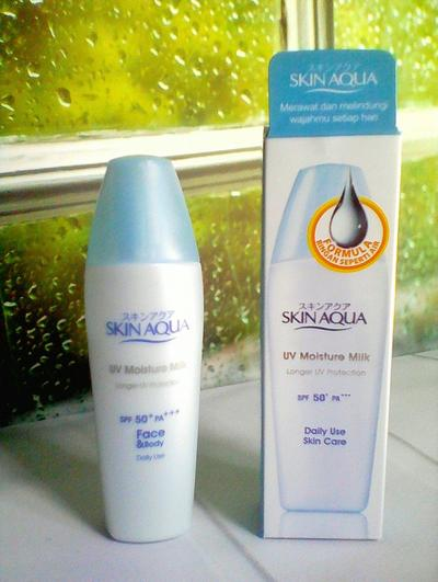 REVIEW: Skin Aqua UV Moisture Milk SPF 50 PA++